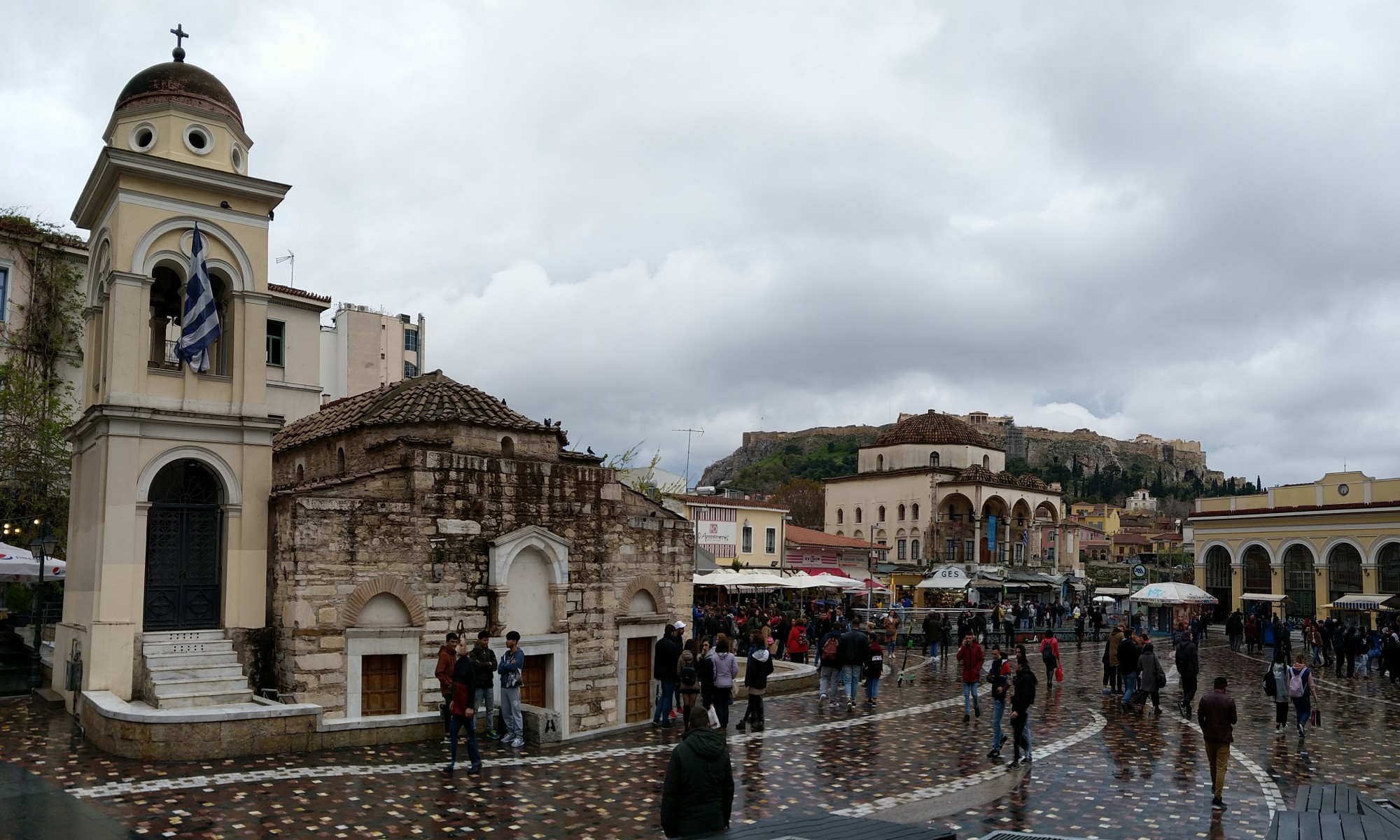 Monastiraki Square, Athens Greece