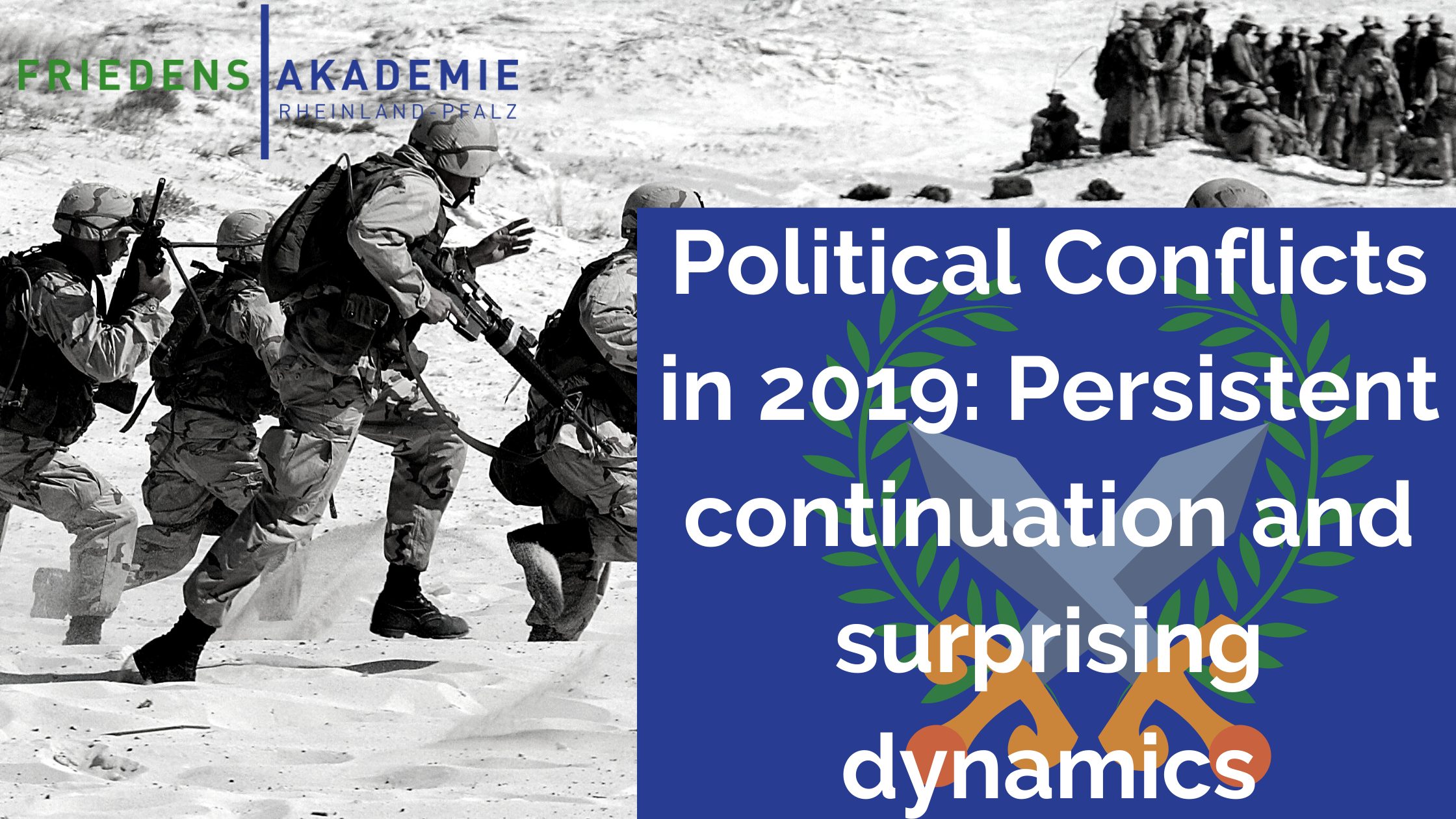 Political Conflicts in 2019: Persistent continuation and surprising dynamics