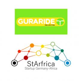 Recording: StArfrica lunch-impulse with Tony B. Adesina (GuraRide Rwanda) #2
