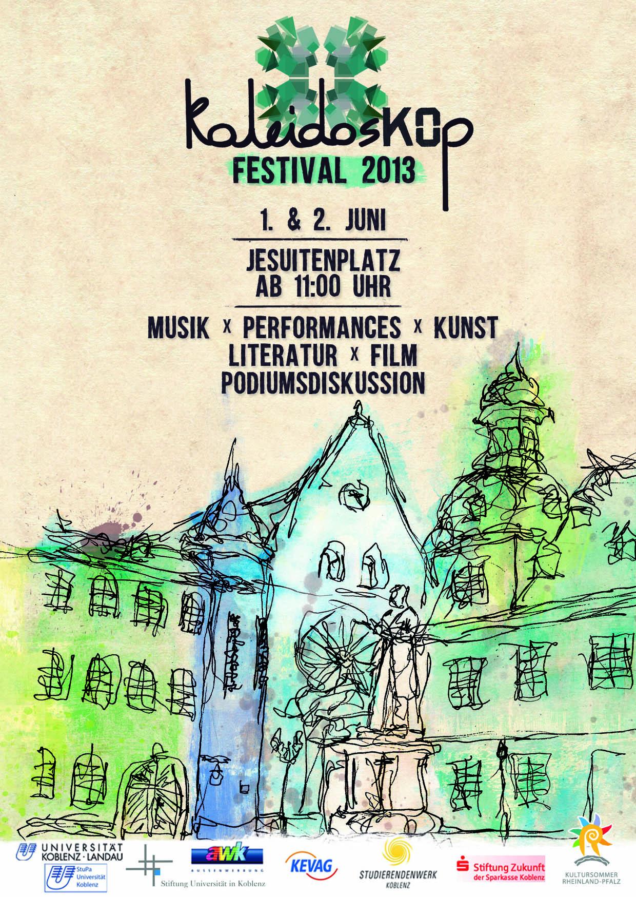KaleidosKOp Festival bringt studentische Kultur in die Koblenzer Innenstadt