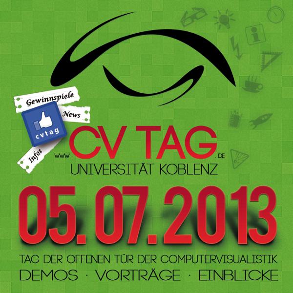 Infos zum Studiengang, studentische Projekte und Einblicke in mögliche Berufe eröffnet der Tag der Computervisualistik seinen Besuchern am kommenden Freitag, 5. Juli.