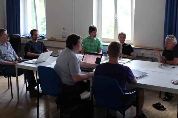 Seit rund drei Jahren finden regelmäßig Planungstreffen statt um einen reibungslosen Ablauf der INFORMATIK 2013 am Campus in Koblenz zu garantieren.