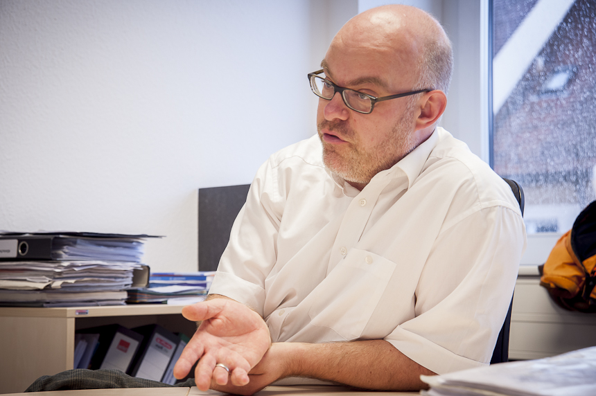 Psychotherapeut Dr. Jens Heider hat selbst in Landau studiert. Foto: David John