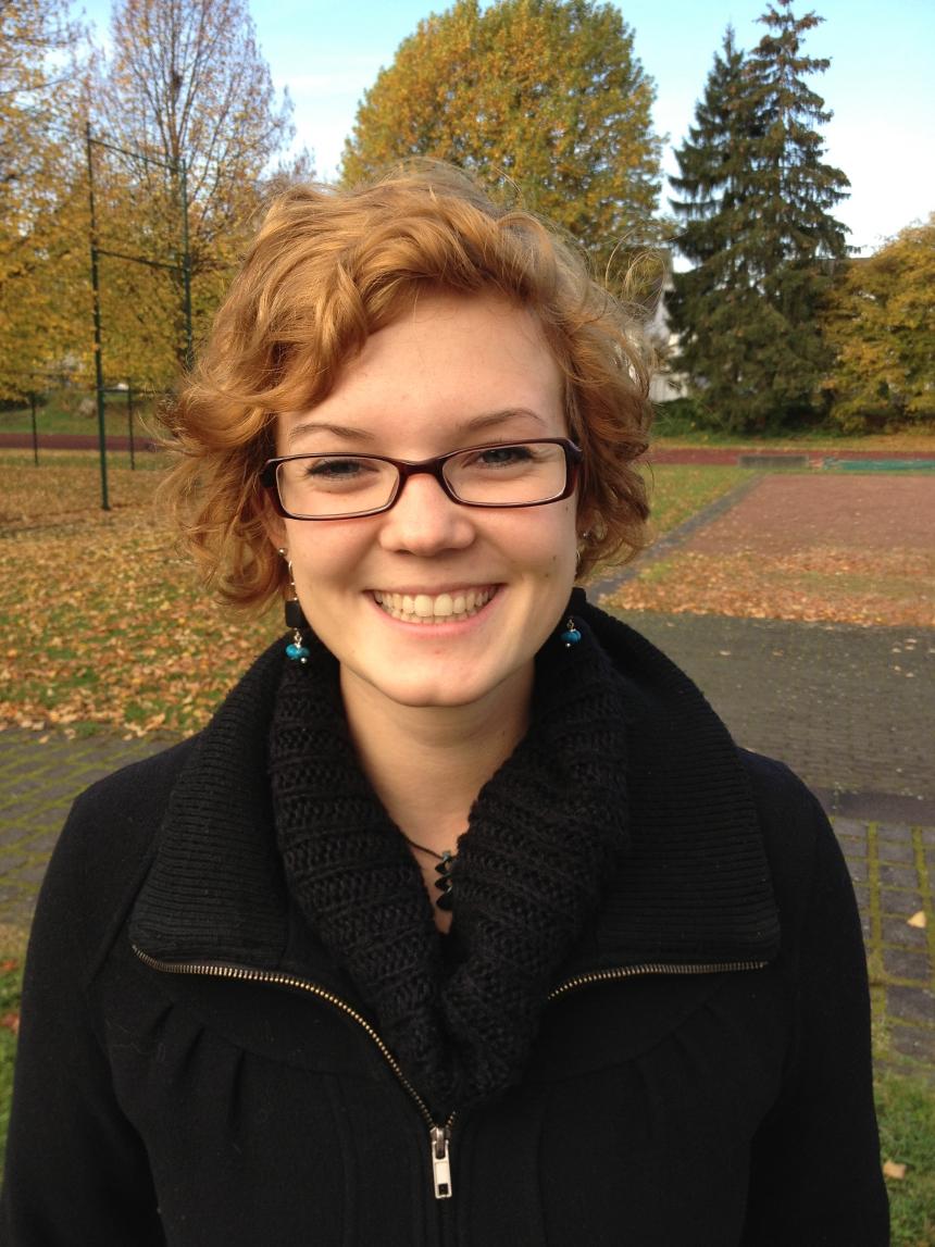 Julia Schmidt (21), 2-Fach-BA Psychologie und Soziologie. Foto: Hannah Wagner