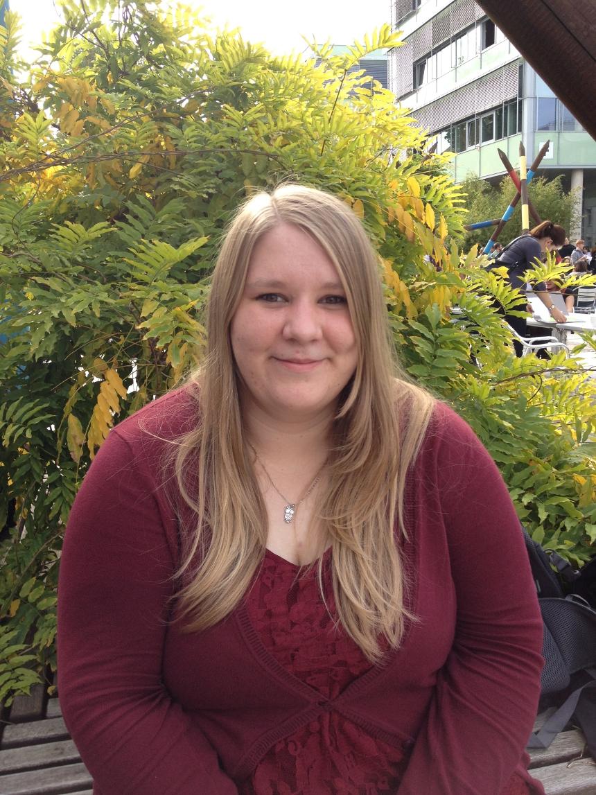 Lisa Sauer (22), BA Pädagogik. Foto: Hannah Wagner