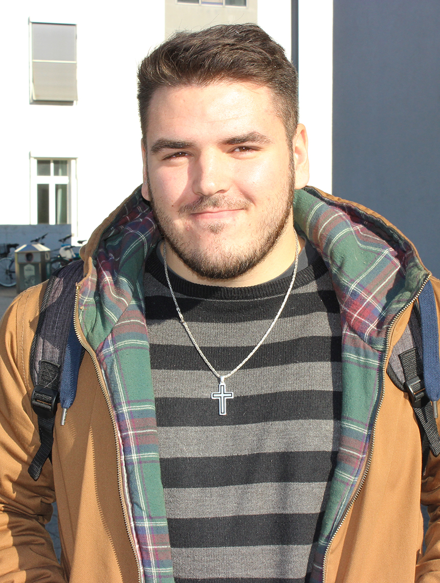 Nico Calzaferri (22), Computervisualistik. Foto: Adrian Müller
