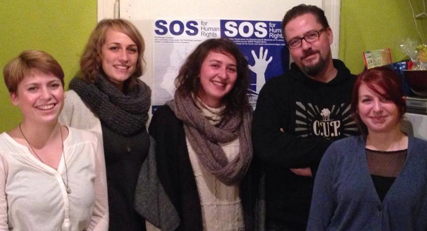 Der Vorstand des Vereins: Amrei Vogel, Katharina Frese, Elena Heth, Marcel von der Weiden und Silke Radmacher (von links). Foto: Privat