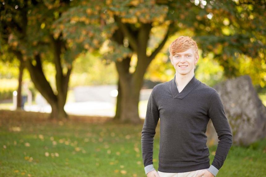 Mario Wieland leitet die Musical-Gruppe seit ihrer Gründung. Er ist 23 Jahre alt und studiert im 6. Semester Grundschulpädagogik. Foto: Privat