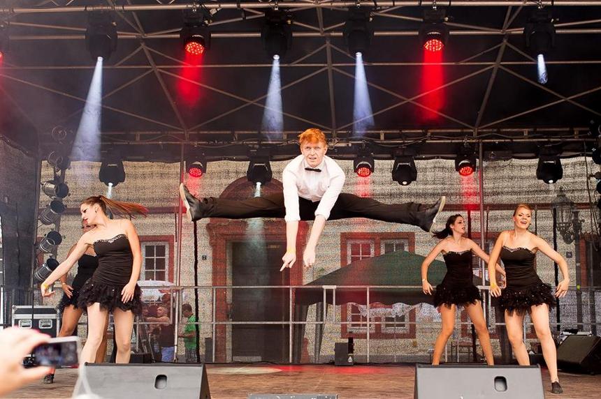Tanzen ist Wielands große Leidenschaft. Foto: Privat