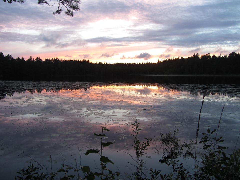 Die Gruppe passierte auf ihrer Reise traumhafte Landschaften in Finnland. Foto: Rolf Leonhardt