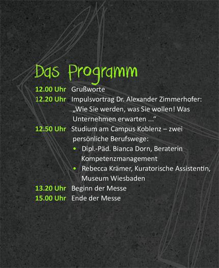 Programm Career Day