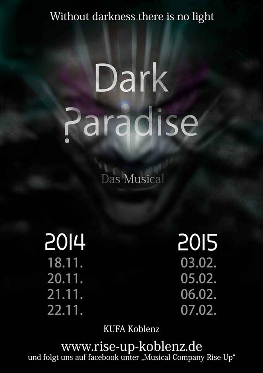 """In rund einem Jahr startet die Premiere von """"Dark Paradise"""" in der Kufa. Bis dahin stehen noch viele Proben im Kalender."""
