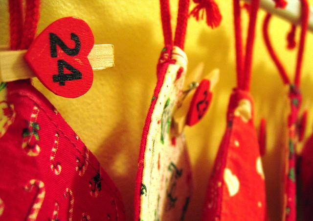 Geschenke vergessen? Das fragte sich Julia Brack, als sie zu Weihnachten einen leeren Adventskalender bekam. Foto: Sólveig Zophoníasdóttir/flickr.com