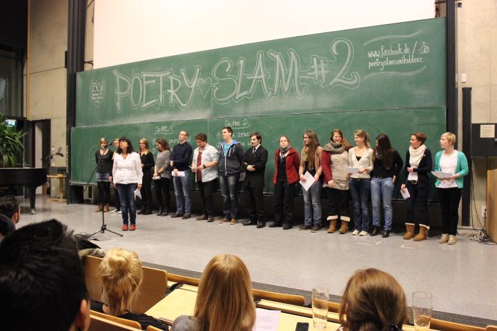 Ein Seminar von Frau Dr. Wünsche präsentiert Texte im Stil von Ottfried Preußler.
