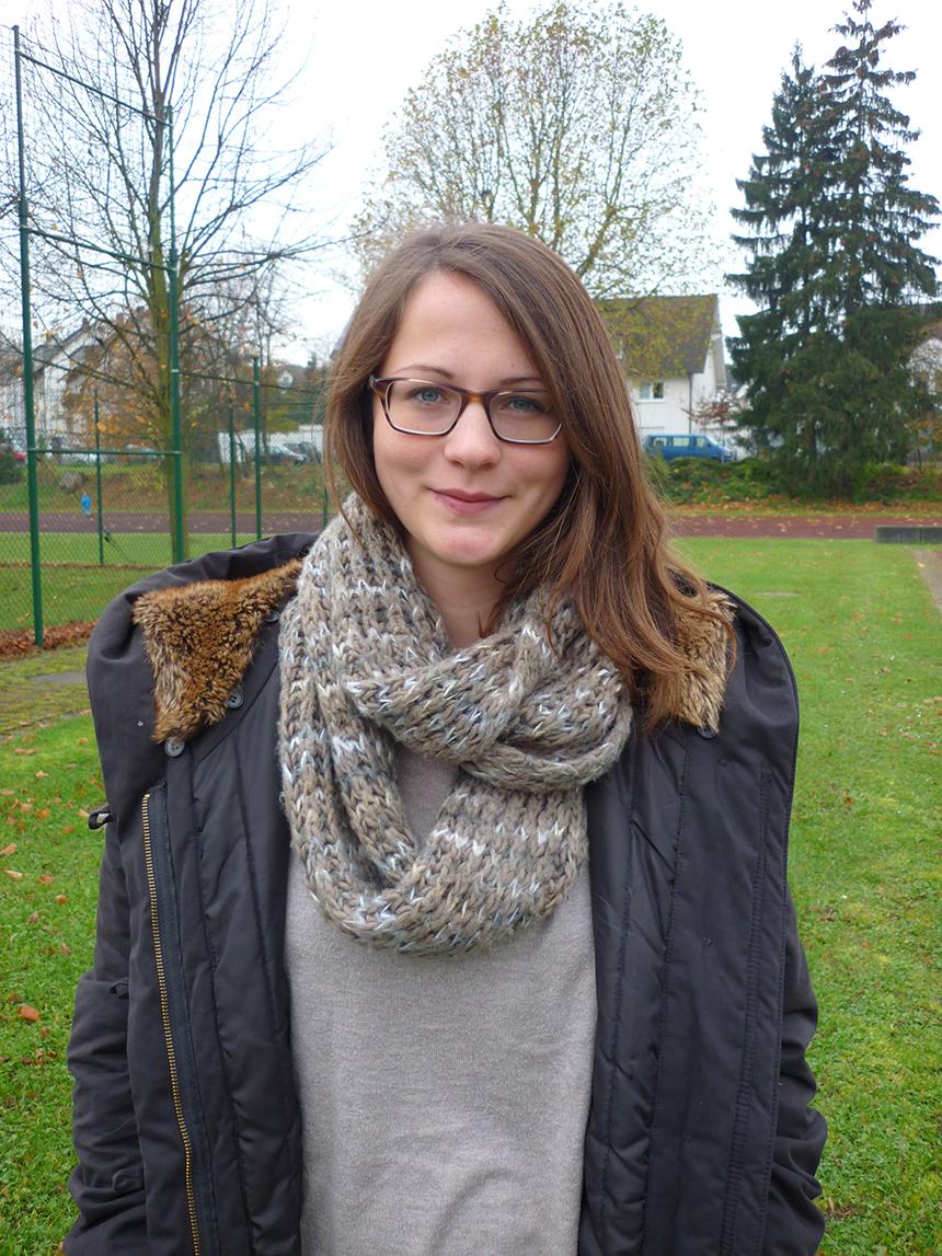 Eva Schwarz (23), Kulturwissenschaft 5. Semester, Foto: Hannah Wagner