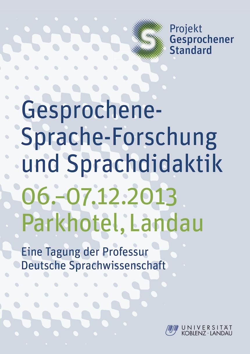 Das Institut für Germanistik am Campus Landau lädt zur zweitägigen Tagung ins Parkhotel in Landau ein. Foto: Institut für Germanistik, Campus Landau