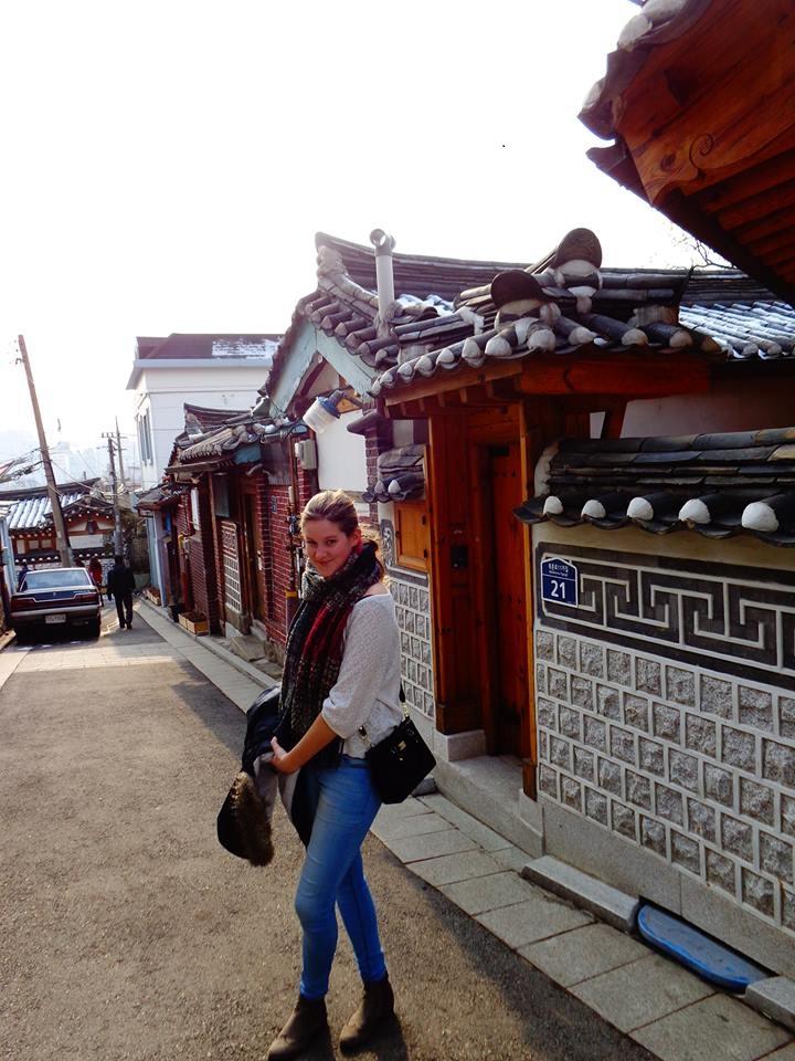 Gut vier Monate verbrachte die Koblenzer Studentin in Südkorea. Foto: Privat