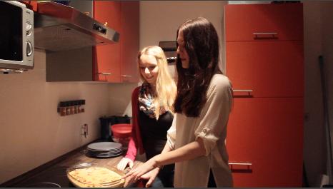 Laura Gilles und Carla Häusler sind zum ersten Mal bei den Switching Tables dabei.