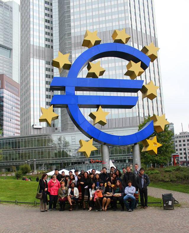 Auf dem Programm der Summer Schools: Ein Blick hinter die Kulissen europäischer Institutionen. Foto: privat