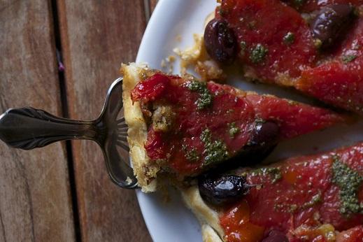 Wer da nicht probieren will, ist selber schuld: eine leckere Tomaten-Tarte