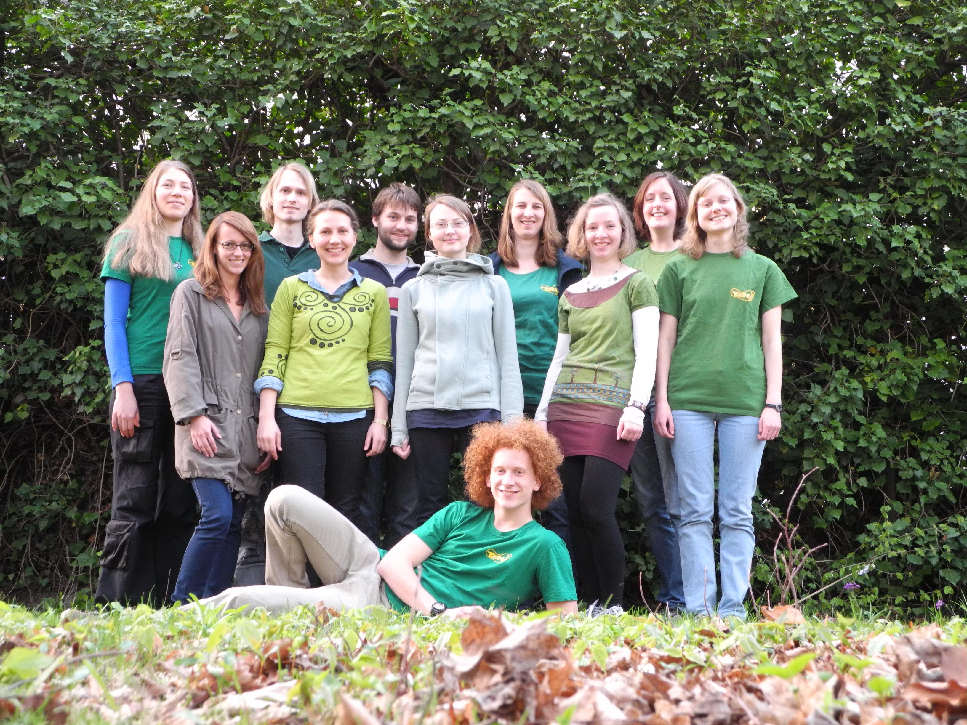 Ein Teil des Organisationsteams des Landauer Tags zur Nachhaltigkeit. Foto: privat.