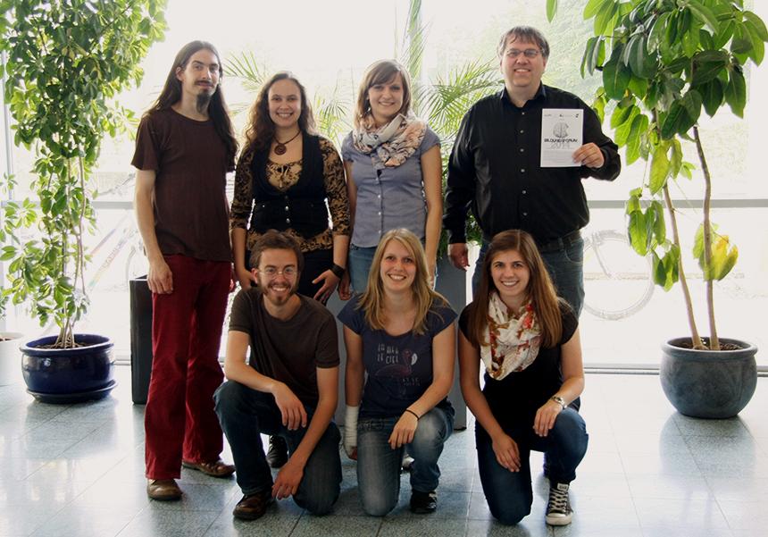 Das Team vom Bildungsforum 2014 sucht für nächstes Jahr Verstärkung. Foto: Catharina Fuhrmann