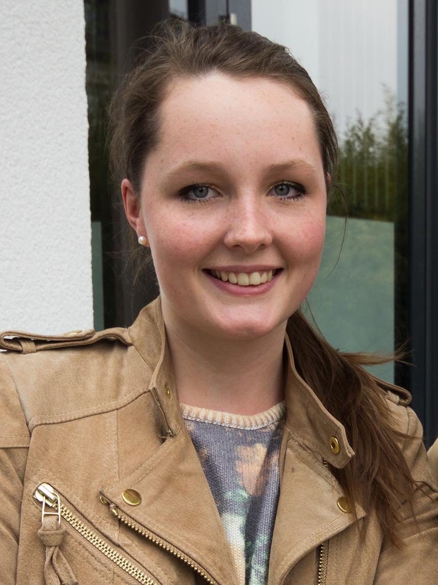 Christina Bauche (20), Lehramt Deutsch und evangelische Theologie. Foto: Adrian Müller
