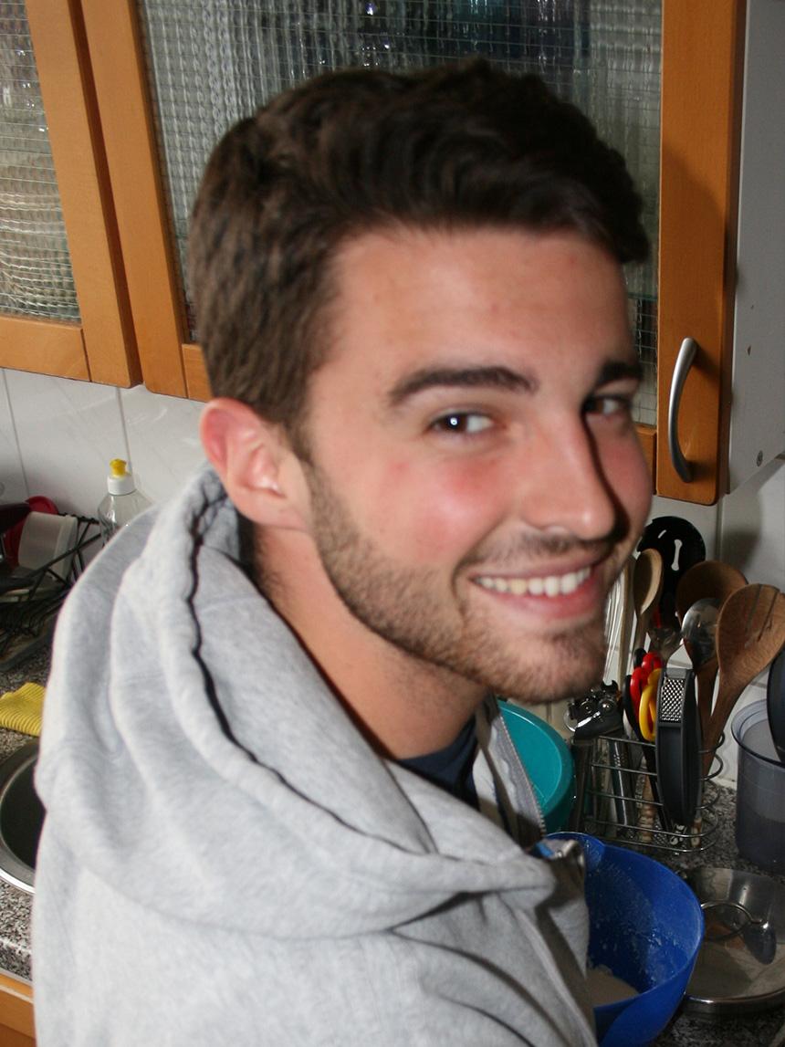 Felix Wagner (21), Lehramt Mathematik und Wirtschaft und Arbeit. Foto: Katharina Greb