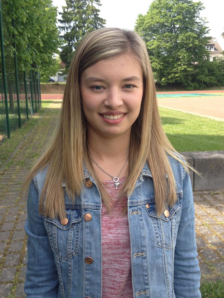 Lina Krämer (19), Lehramt Mathematik und evangelische Theologie. Foto: Hannah Wagner