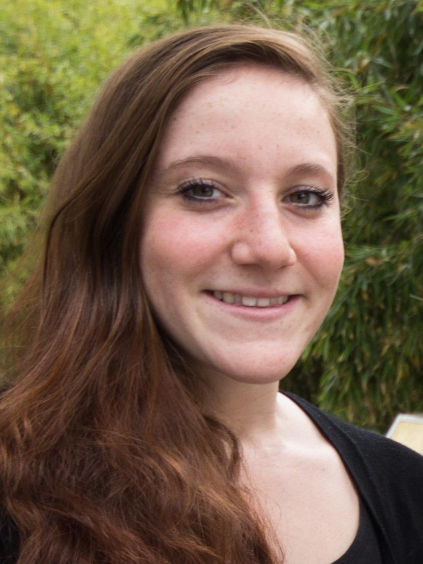 Magdalena Faust (21), Lehramt Deutsch und Ethik. Foto: Adrian Müller