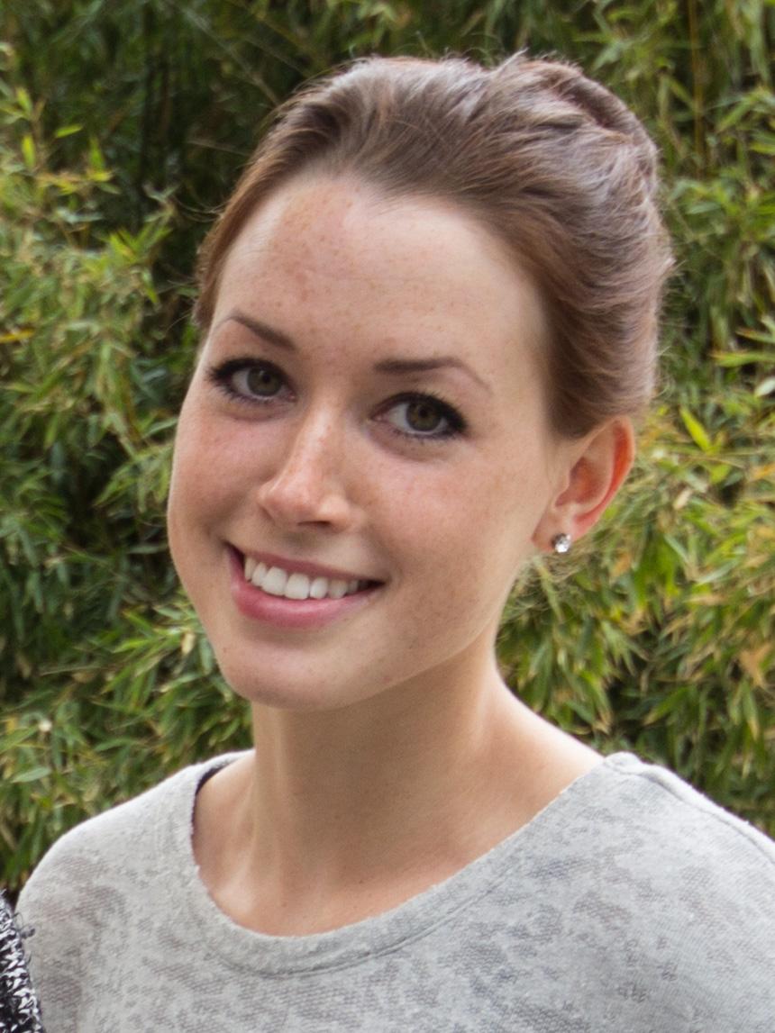 Natalie Daniels (23), Lehramt Chemie und Biologie. Foto: Adrian Müller