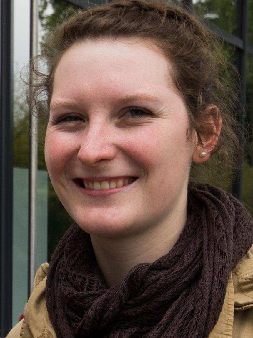 Victoria Paulus (20), Grundschullehramt Deutsch und Ethik. Foto: Adrian Müller