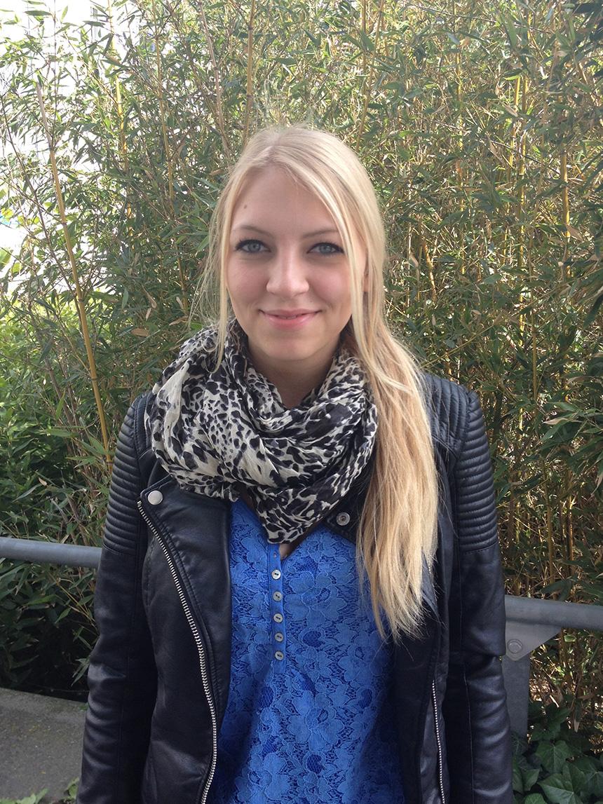 Viktoria Lehmann (21), Lehramt Deutsch und Ethik. Foto: Hannah Wagner
