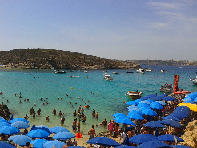 Malta liegt im Mittelmeer und ist ein Magnet für zahlreiche Touristen. Foto: Privat