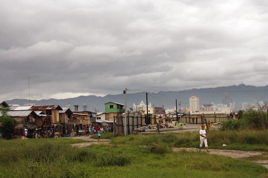 Viele Familien kommen auf der Suche nach Arbeit von den ländlichen Regionen nach Cebu, die Hauptstadt der gleichnamigen Insel auf den Philippinen. Foto: Privat.
