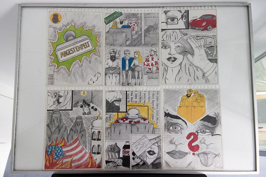 ... Milena Rabes Comic und vielen weiteren studentischen Werken ...