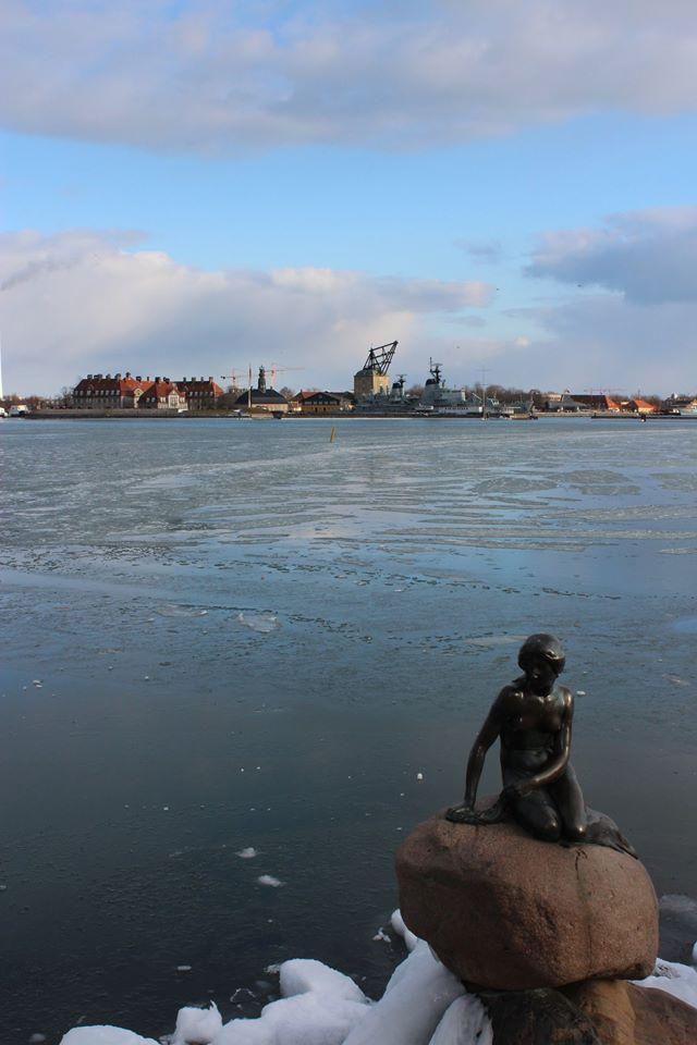 Die kleine Meerjungfrau ist das Wahrzeichen von Kopenhagen. Der Dichter H.C. Andersen, auf den die Geschichte zurückgeht, ist bis heute einer der bekanntesten Dänen überhaupt. Foto: Lena Merkle