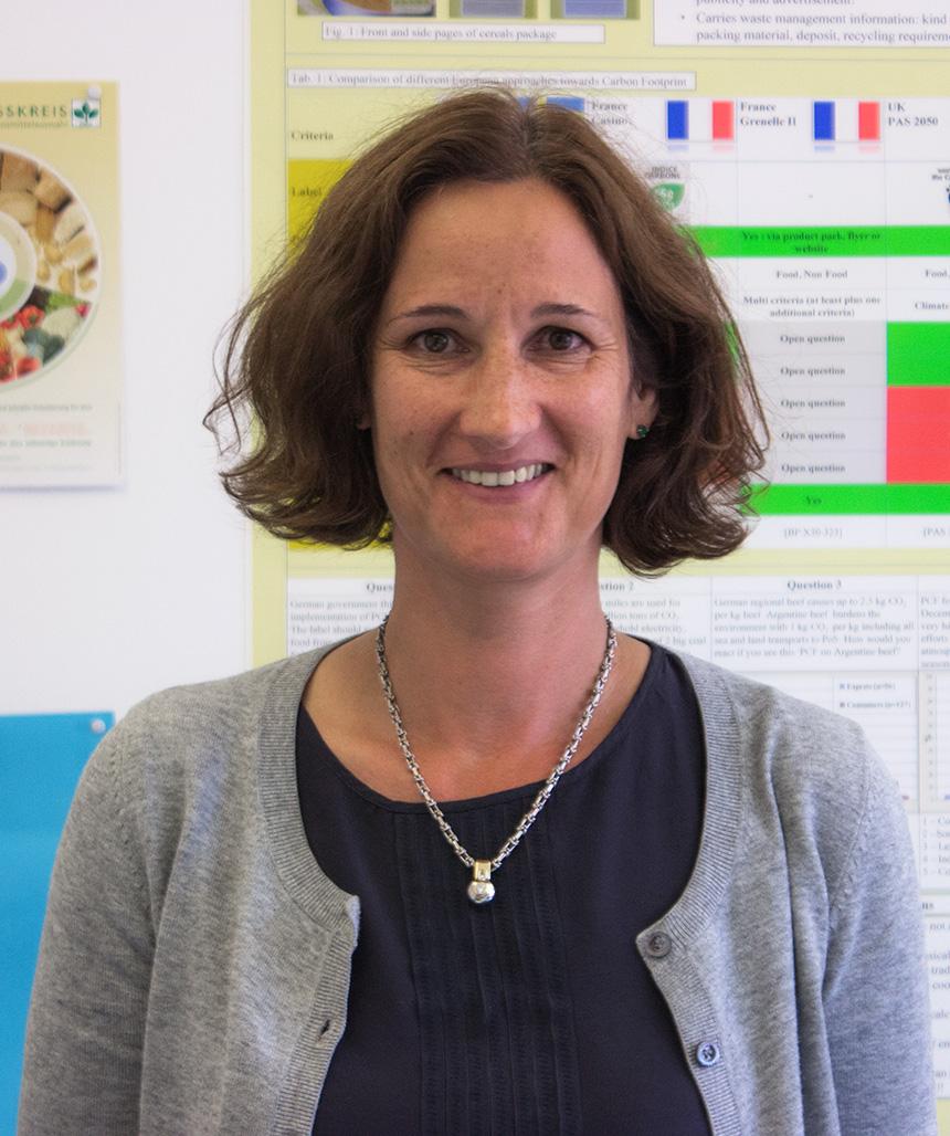 Dr. Michaela Schlich forscht unter anderem auf den Gebieten der Sensorik und Vitaminanalytik. Foto: Müller