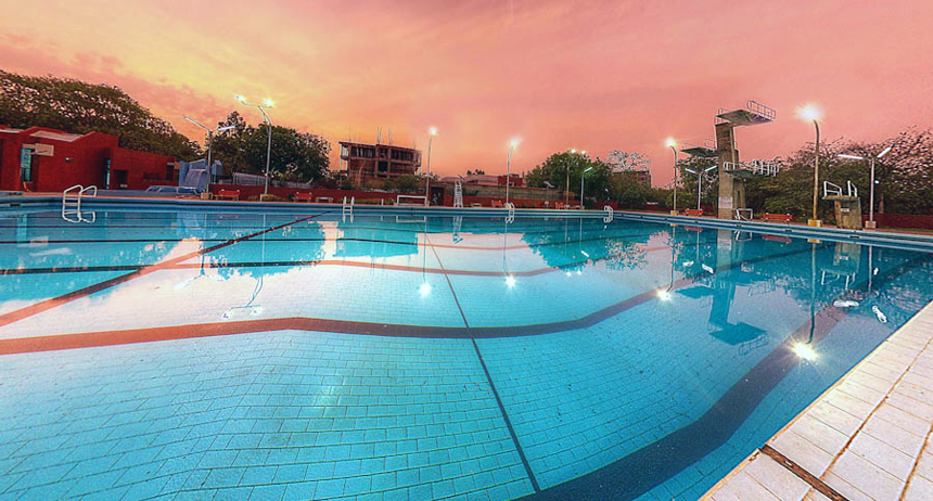 Swimming Pool am IIT. Foto: IIT Kanpur
