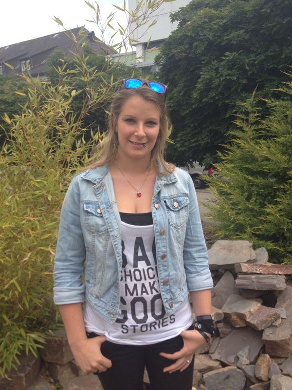 Die 23-jährige Alexa Menzel studiert am Campus in Koblenz. Foto: Privat