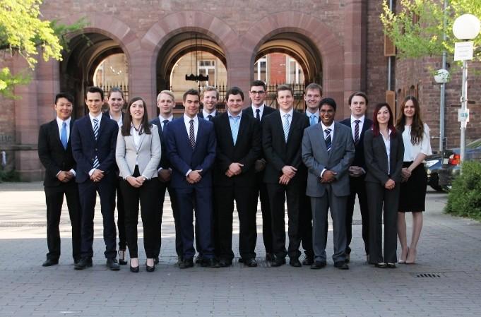 Mitglieder der studentischen Unternehmensberatung KoUnity Foto: Privat