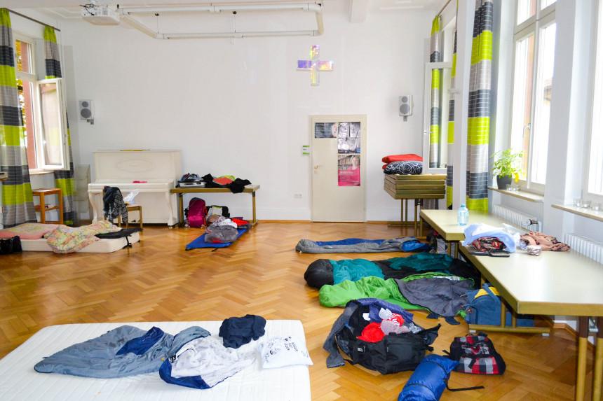 Studierende, die auf Wohnungssuche in Landau sind, können in den Räumen der Katholischen Hochschulgemeinde vorrübergehend übernachten. Foto: Leyerer
