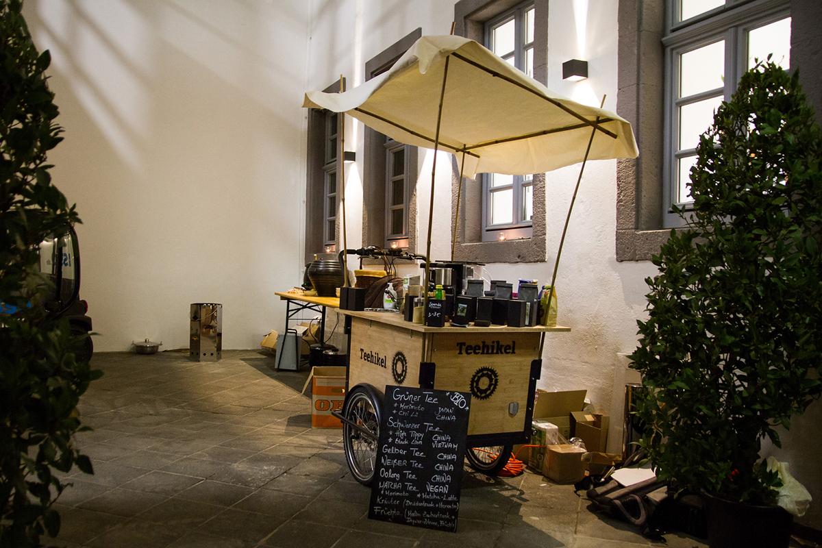 Das Teehikel hat Hählke gemeinsam mit Freunden selbst gebaut.