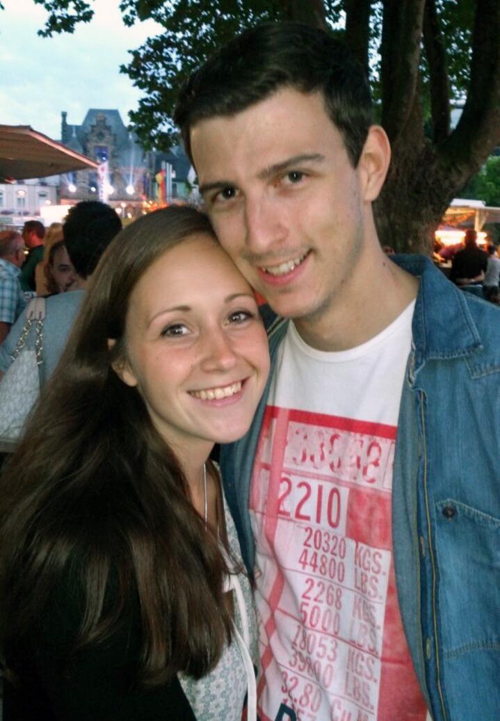 Auf dem Fest der 1000 Lichter erlebten Madleine Blum und Christian Hamm schöne Momente. Foto: Privat