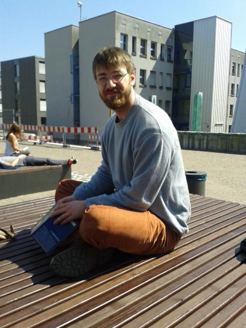 Clemens Sarholz, BA. Psychologie, 2. Semester. Foto: Lisa Leyerer