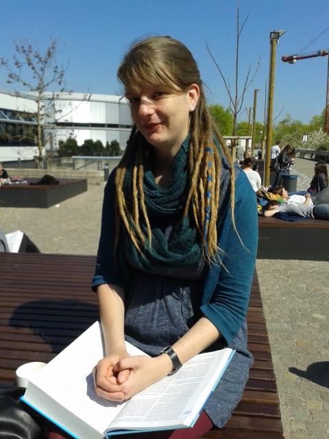 Franzi Tauscher, BA. Psychologie, 2. Semester. Foto: Lisa Leyerer