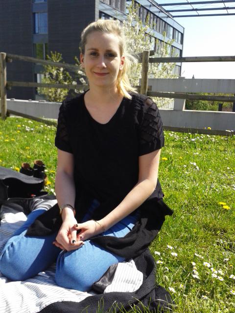 Katharina Meißner, BA. Psychologie, 2. Semester. Foto: Lisa Leyerer