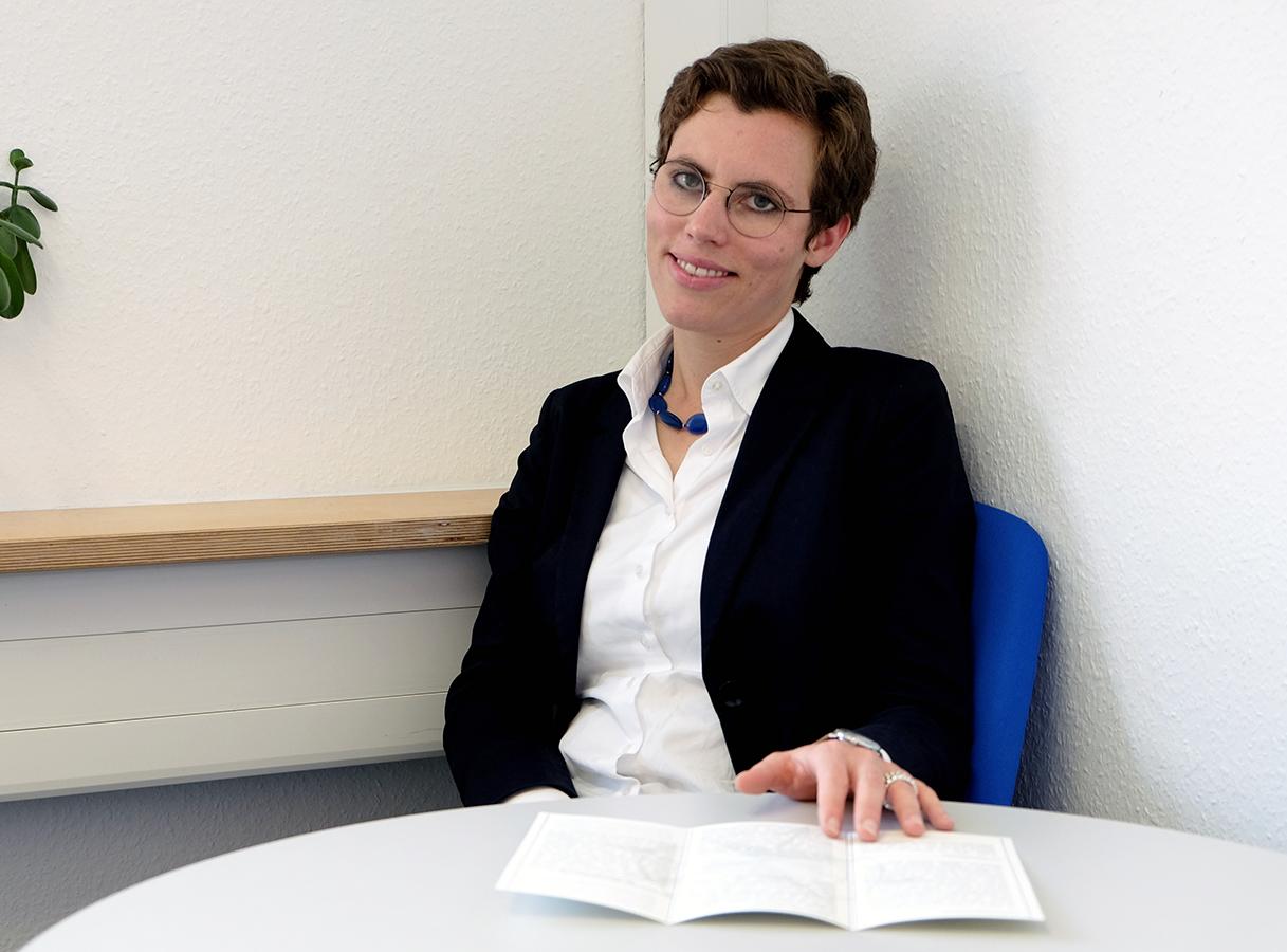 Diplom-Pädagogin Anna Magdalena Schaupp. Foto: Marius Adam.