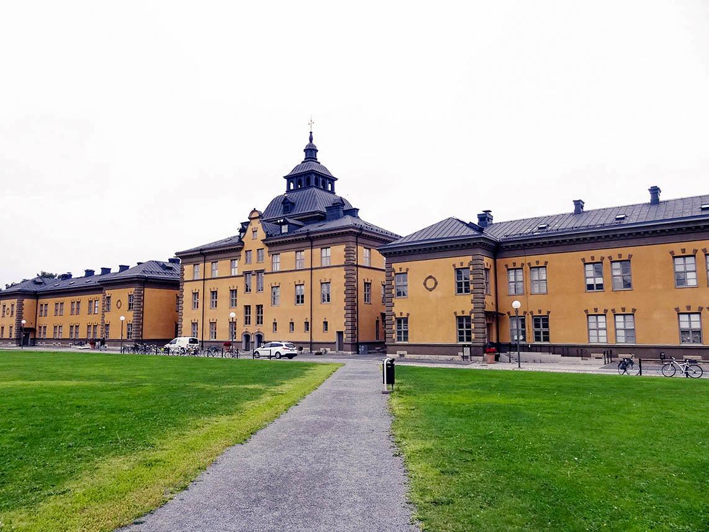An der Mittuniversitetet in Östersund hat Elena Hamm ein Semester lang studiert.