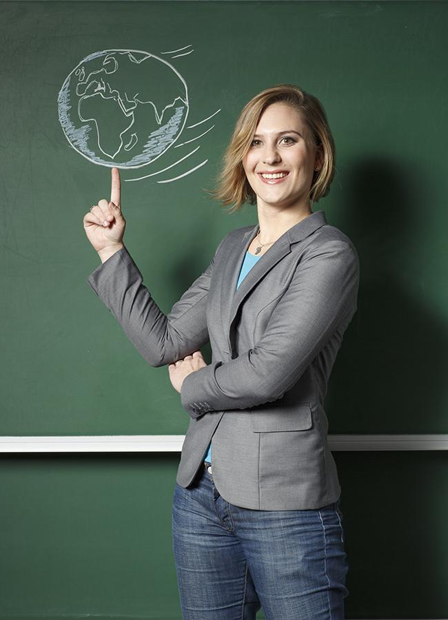 Silvana Weber untersucht, wie Stereotype auf Schüler mit Migrationshintergrund wirken. Foto: Weber